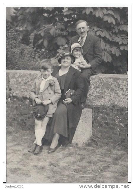 Photo Famille 1920 -30 - Anonyme Personen