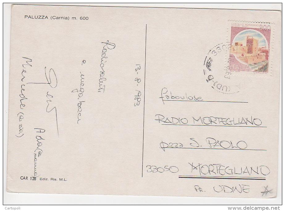 ^ SALUTI DA PALUZZA CARNIA UDINE PANORAMA 236 - Udine