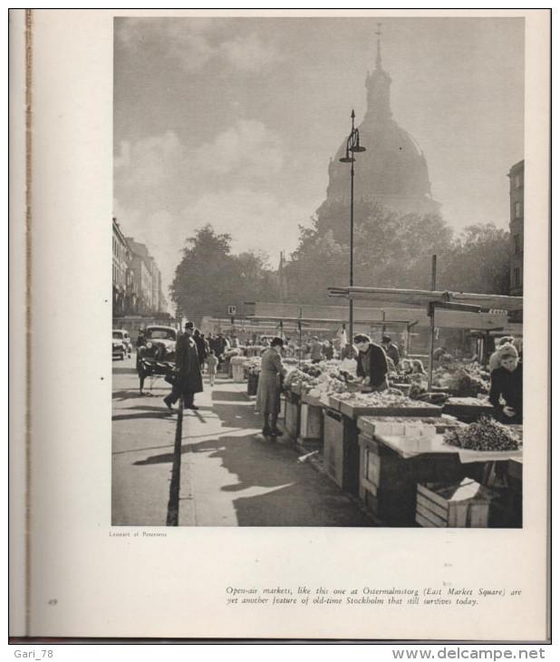 STOCKHOLM  La Capitale De La Suède Editions Thord Ploenge Jacobson En 1948 - Livres, BD, Revues