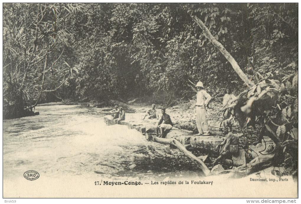 MOYEN CONGO - LES RAPIDES DE LA FOULAKARY  ( PRIX FIXE !! ) - Französisch-Kongo - Sonstige