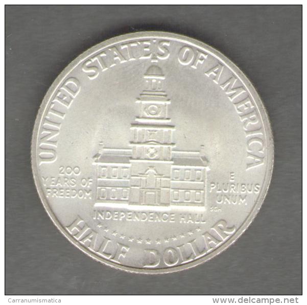 STATI UNITI HALF DOLLAR 1976 AG SILVER - Emissioni Federali