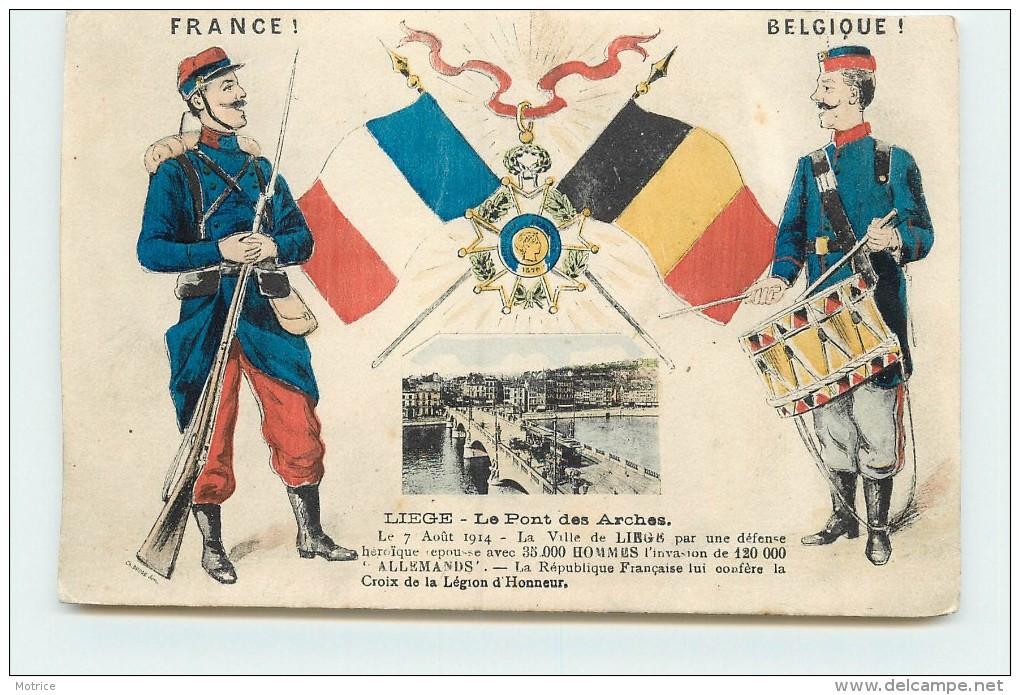 FRANCE/BELGIQUE  - Liège Le Pont Des Arches. - Liege