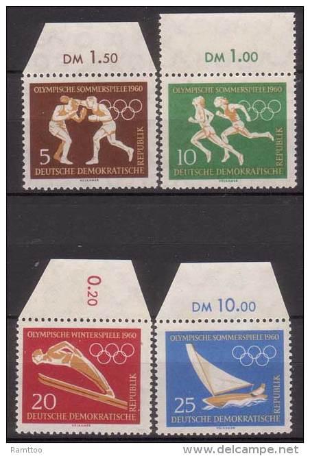 DDR , 1960 , Mi.Nr. 746 - 749 ** / MNH - DDR