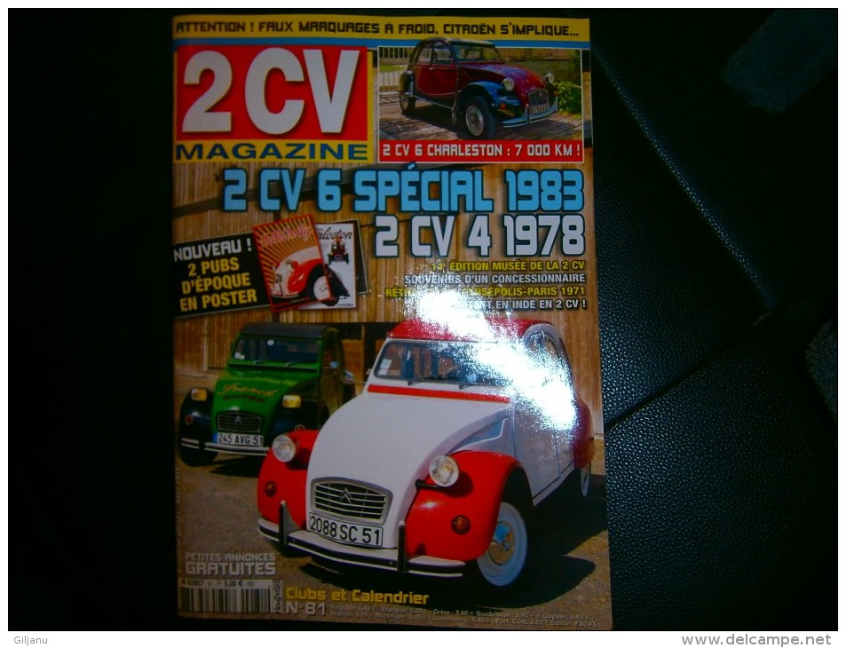 2 CV MAGAZINE N 81 - Auto/Motorrad