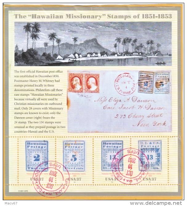 U.S. 3694  ON  PIECE   (o)  HAWAII - Verenigde Staten