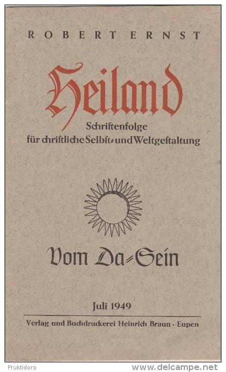 LG Heiland Schriftenfolge Für Christliche Selbst- Und Weltgestaltung - 1949 - Robert Ernst - Christianisme