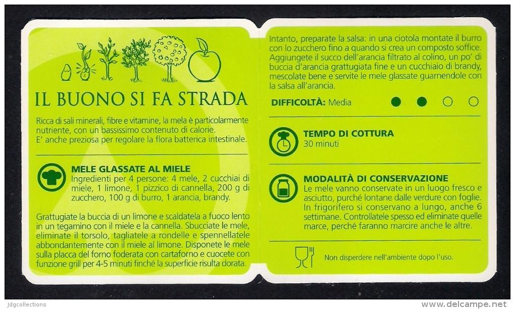 # MELE DESPAR Italy Apples Tag Balise Etiqueta Anhänger Cartellino Fruits Pommes Apfel Manzanas Frutas - Fruits & Vegetables
