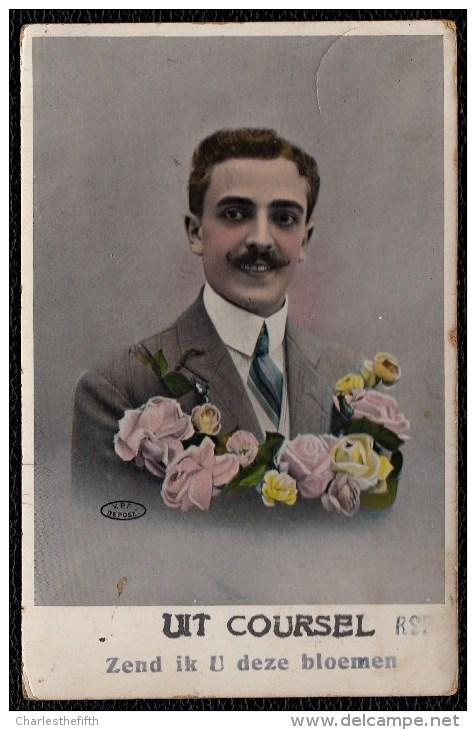 UIT COURSEL - KOERSEL Zend Ik U Deze Bloemen - Zeldzame !! 1901 ! - België