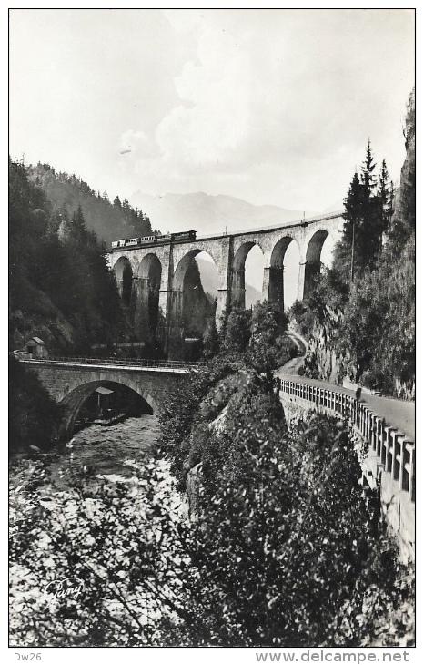 Environs De Chamonix - Les Houches - Le Pont Sainte Marie - Train Sur Le Viaduc - Carte Non Circulée - Francia