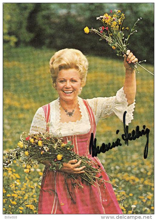MARIA HELLWIG   - Autographe / Dedicace - Originalautogramm - Autografi