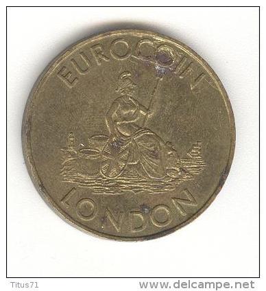 Jeton Eurocoin London - Whittaker Bros London - Professionnels/De Société