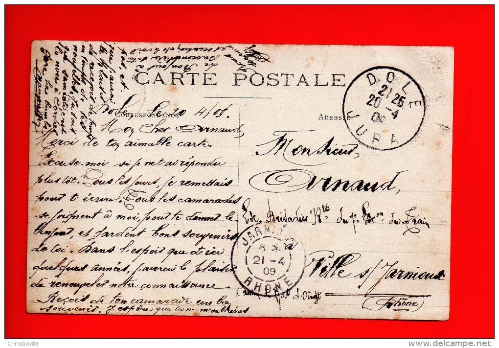 Traineau Automobile R.L.B.K. - NOZEROY (39) - Le Virage - Photo Carte (H) - France