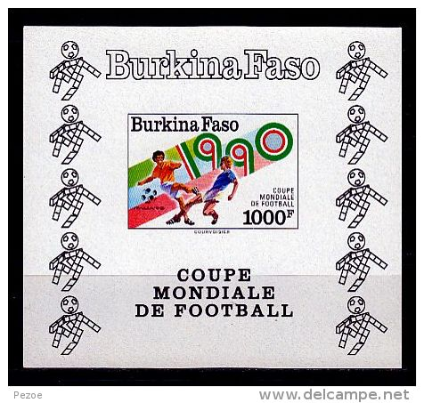 Football / Soccer - Coupe Du Monde 1990:  Burkina Faso  Bl **, Imperf. - World Cup