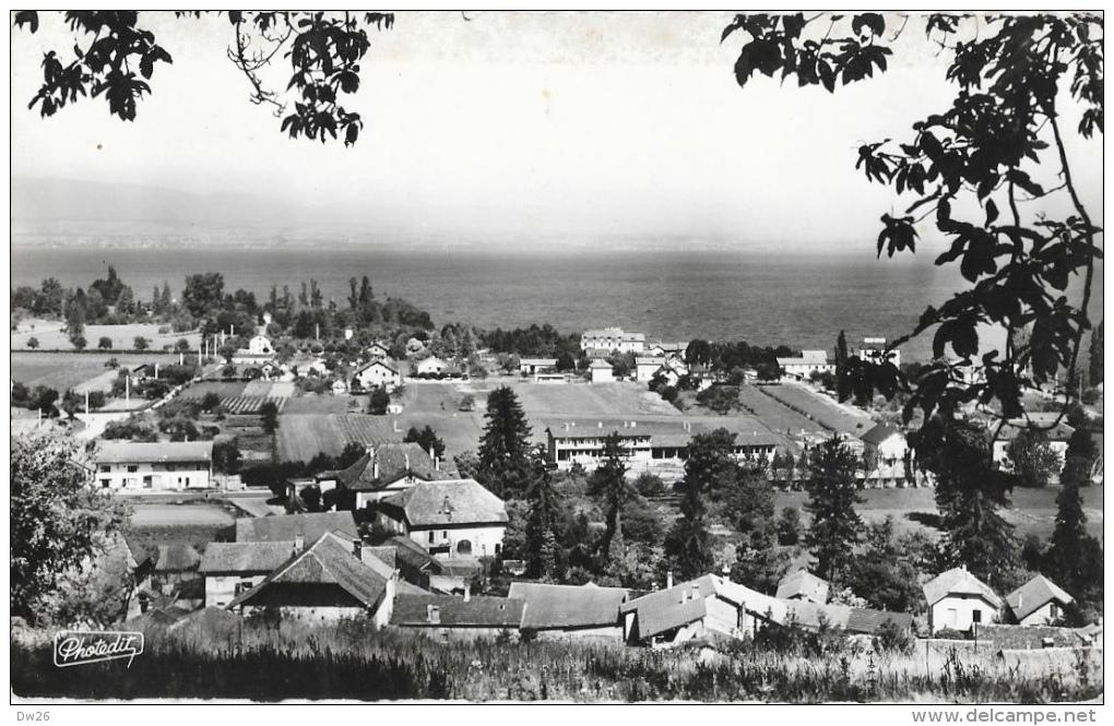 Amphion-les-Bains - Vue Générale - Le Lac Léman Et La Rive Suisse - Carte Photedit - Otros Municipios