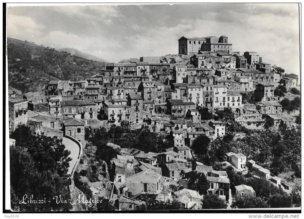SICILIA-MESSINA-LIBRIZZI VEDUTA PANORAMA CITTA´ ANNI/50 - Italy