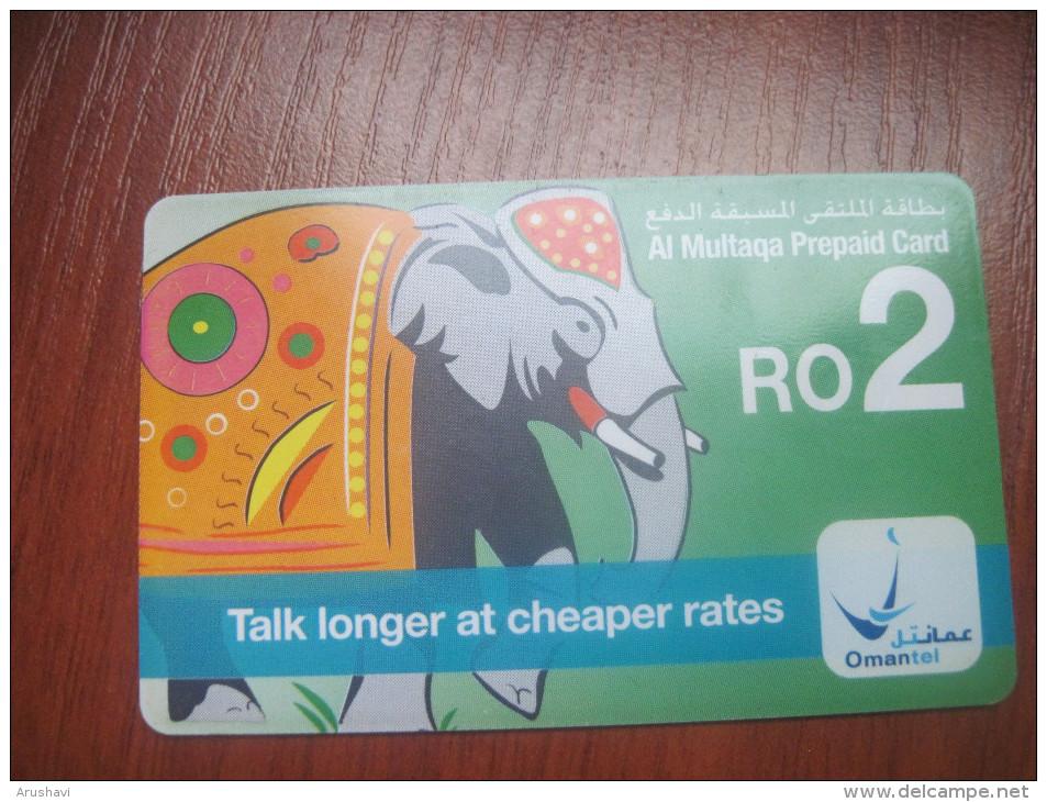 Sultanate Of Oman. OMANTEL. Talk Longer At Cheaper Rates. Al Multaqa Chip Phonecard. - Oman