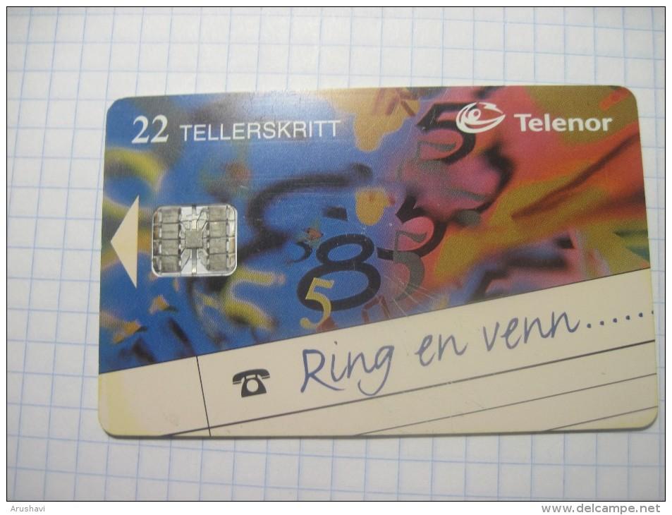 Norway. TELENOR. 22Units. - Norway