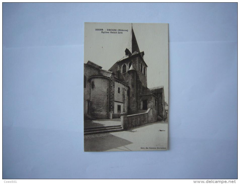 Nièvre (58)   Decize :Eglise Saint-Aré - Decize