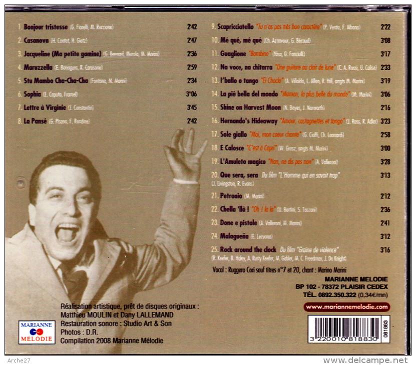 CD - MARINO MARINI Et Son Orchestre - Hit-Compilations