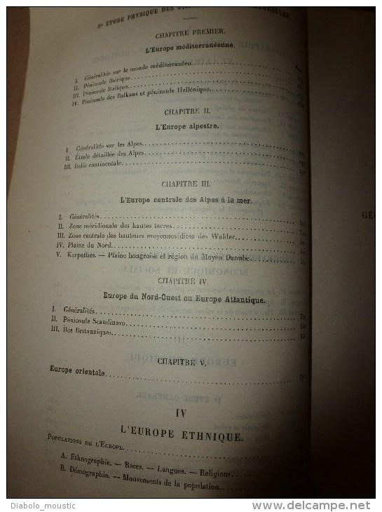 1926 Ecole Militaire De Saint-Cyr:GEOGRAPHIE Gle Et Humaine Au Point De Vue Militaire Liée à La Puissance D'une NATION - Français