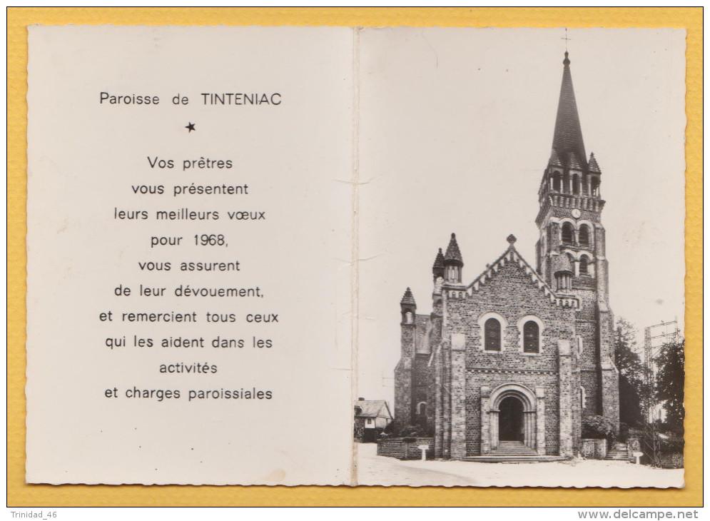 TINTENIAC 35 ( CALENDRIER DE POCHE 1968 ) EDITION COMBIER - Calendriers