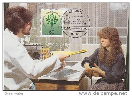 Berlin 1985 Weltkongress Gynäkologie Und Geburtshilfe  1v Maximum Card (18485) - Maximum Kaarten