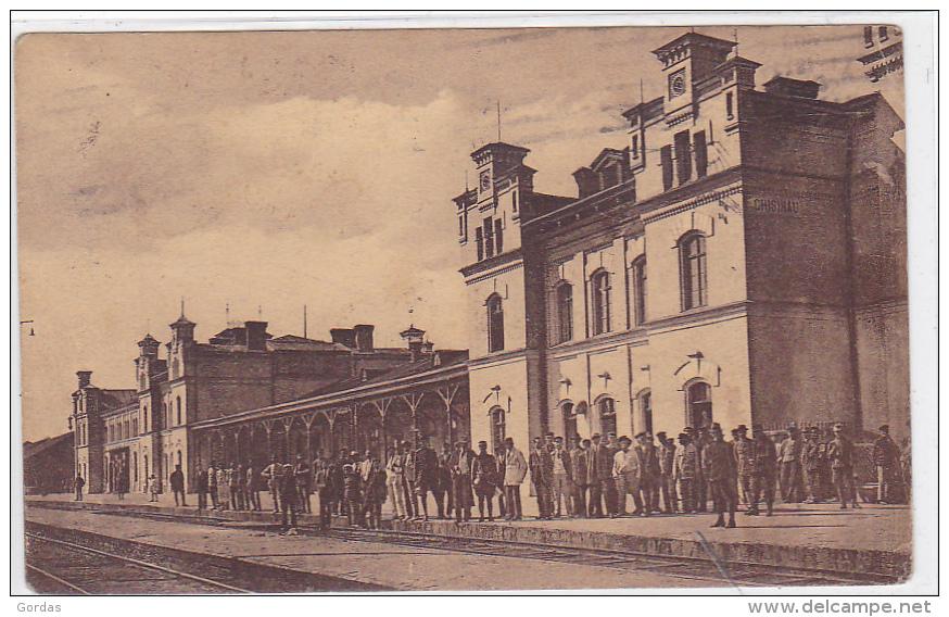 Moldova - Chisinau - Gara - Moldavie