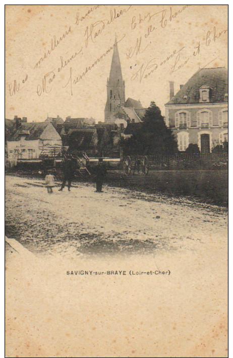 SAVIGNY SUR BRAYE   L'Eglise BE - France