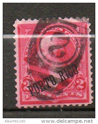PORTO RICO Taxe1889 N°2 - Puerto Rico