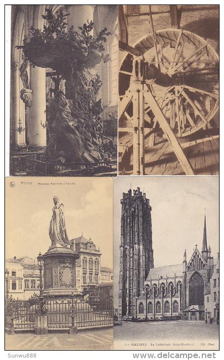 Malines - Mechelen - Lot 9 Kaarten (zie Scans) - Mechelen