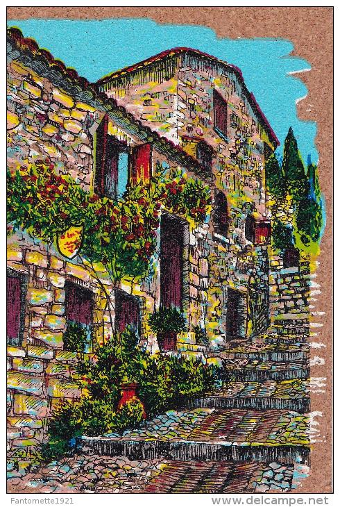 PEINTURE SUR LIEGE INALTERABLE  RUE A L'ESCALIER N° 632(dil54) - Postcards