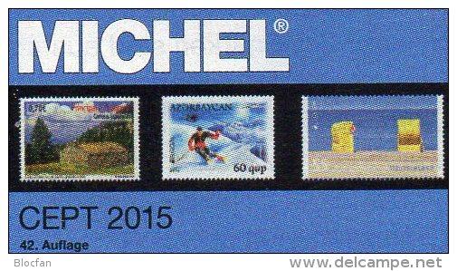CEPT Michel Briefmarken Katalog 2015 Neu 54€ + JG-Tabelle EUROPA Vorläufer EG NATO EFTA KSZE Symphatie 978-3-95402-096-6 - German