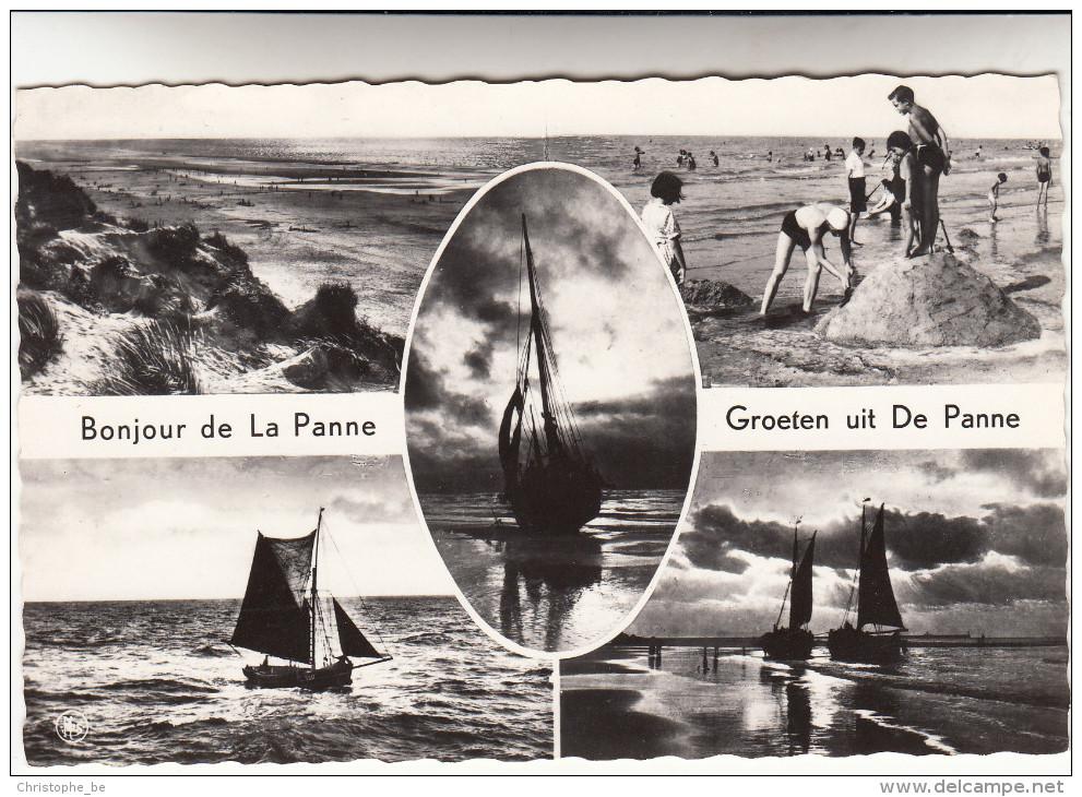 De Panne, La Panne, Groeten Uit ...  Bonjour De ... (pk15052) - De Panne