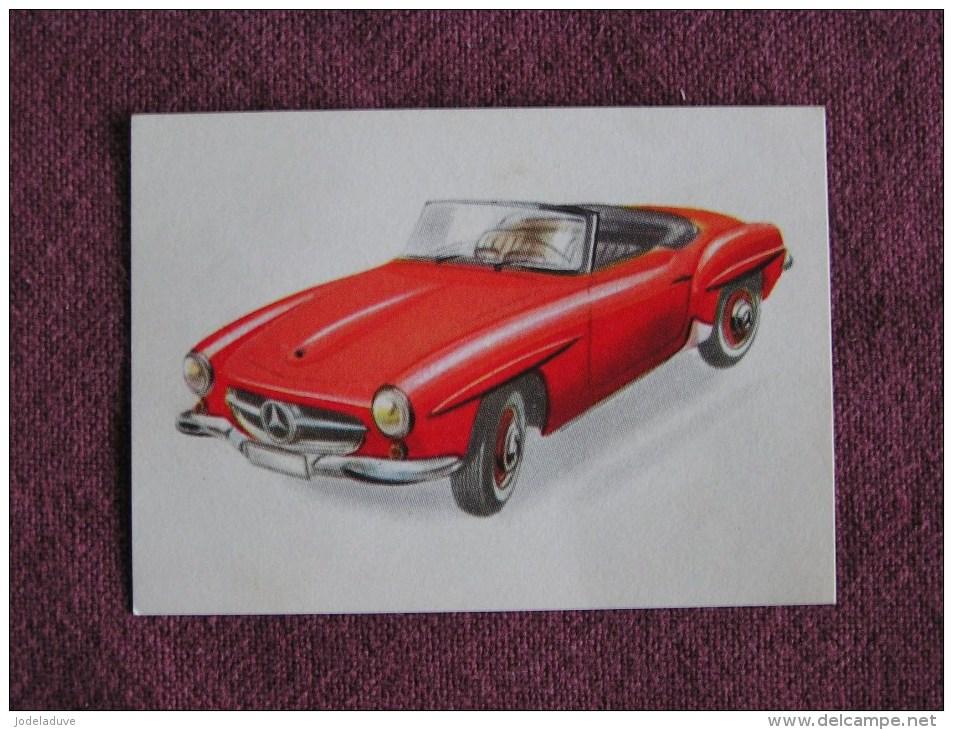 MERCEDES 190 SL  Chromo Auto 1962 Chocolat Jacques Eupen Automobile Trading Card Chromos Vignette - Jacques