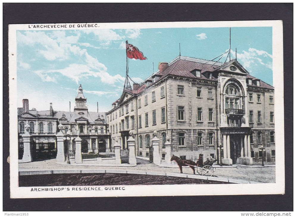 Archbishop`s Residence, Quebec. Canada, N4. - Other