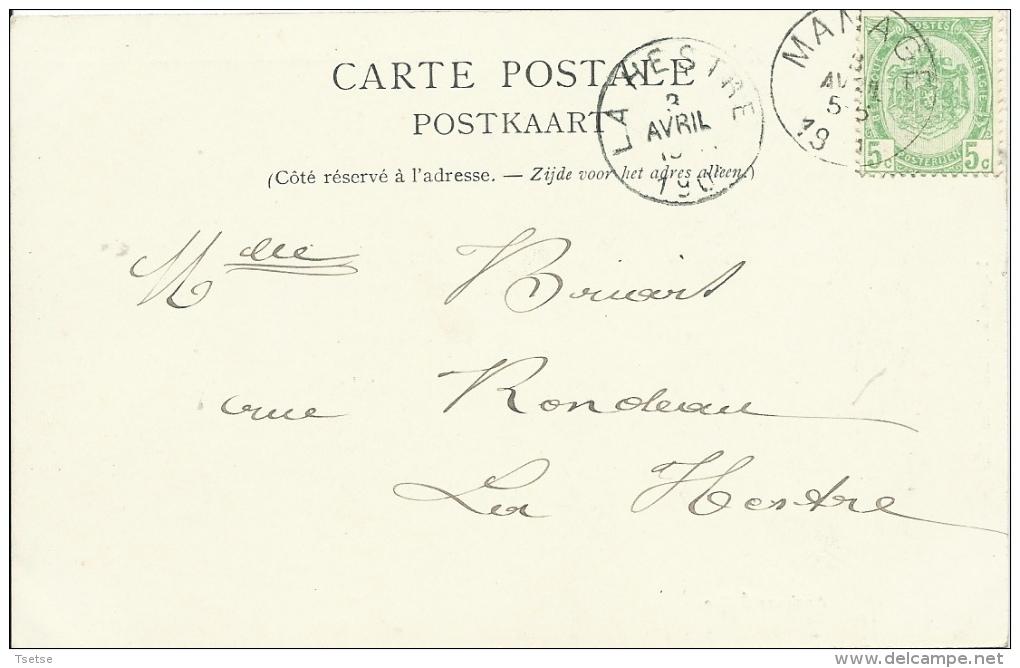 Manage -  Ancienne Eglise - Précurseur  - 1901 ( Voir Verso ) - Manage