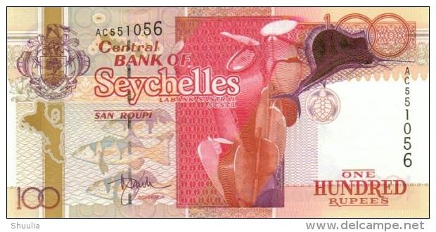 Seychelles 100 Rupees 2000 Pick 40 UNC - Seychellen