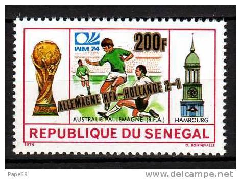Sénégal N° 407  XX  Vainqueurs De La Coupe Du Monde De Football, à Munich Sans Charnière, TB - Senegal (1960-...)