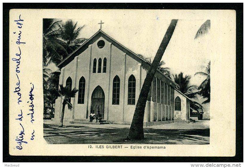 ÎLES GILBERT - Église D'Apemama - Kiribati