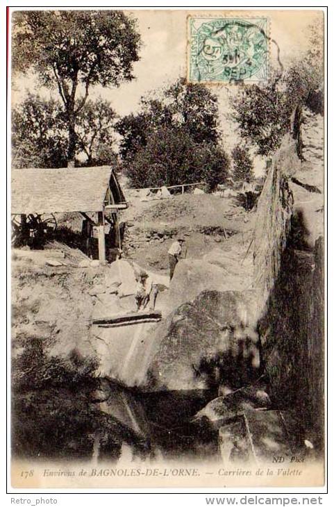 Environs De Bagnoles De L'Orne - Carrières De La Valette ( Asi-12932 ) - Bagnoles De L'Orne