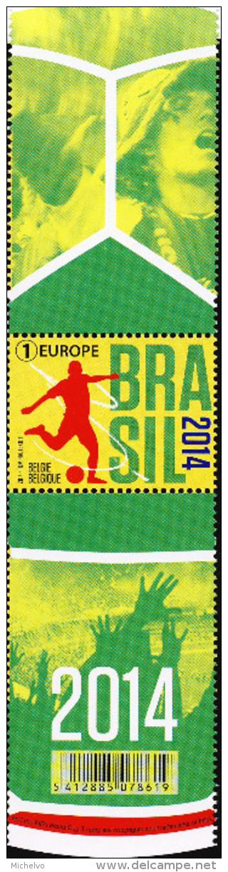 Belg. 2014 - COB N° 4422 ** - Coupe Du Monde De Football - Belgium