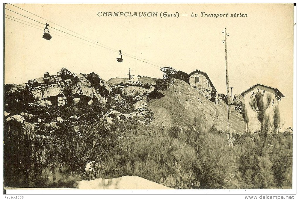 CPA  CHAMPCLAUSON, Le Transport Aérien  11198 - Altri Comuni