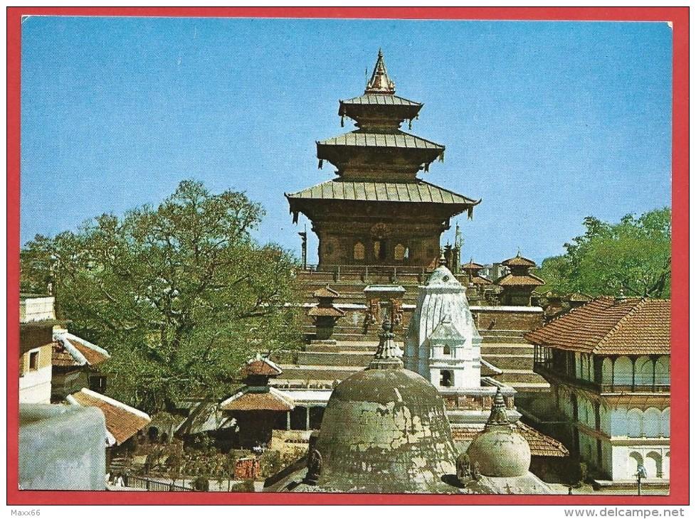CARTOLINA NV NEPAL - TALEJU Temple - 10 X 15 - Nepal