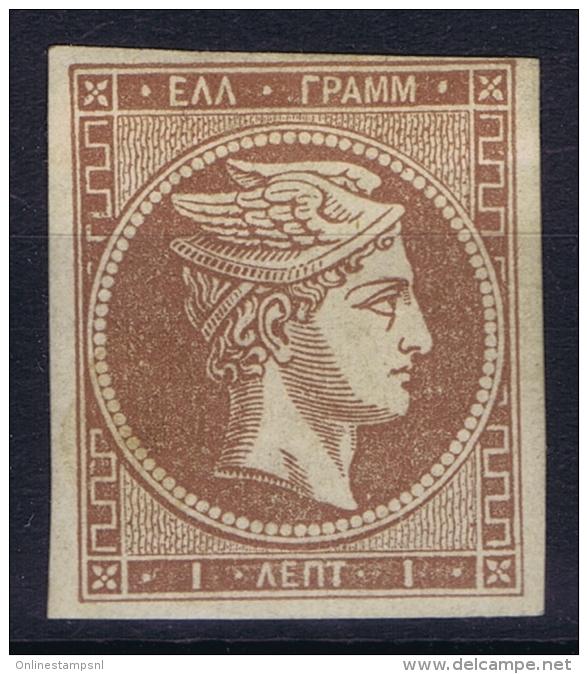 Greece, 1861 Yv Nr 10  MH/* - Ongebruikt