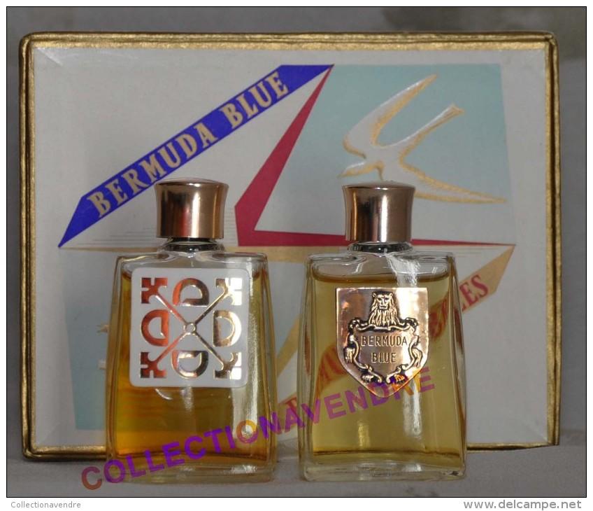 BERMUDA : Miniature De Collection Bermuda Blue & Bermuda Breezes. Rare Coffret, Parfait état - Miniatures Womens' Fragrances (in Box)