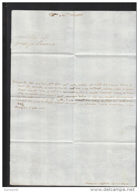 Italia Lettera 1757 (3) - Historische Dokumente