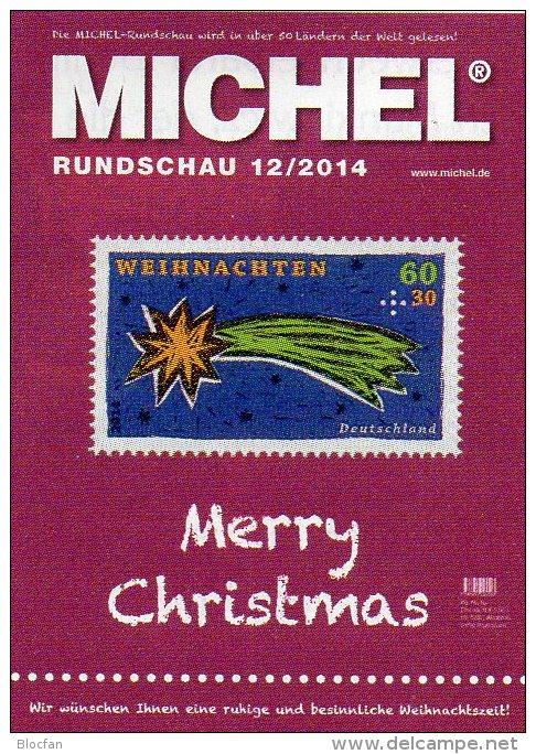 Briefmarken Rundschau MICHEL 12/2014 Neu 6€ New Stamp Of The World Catalogue And Magacine Of Germany ISBN4 194371 105009 - German