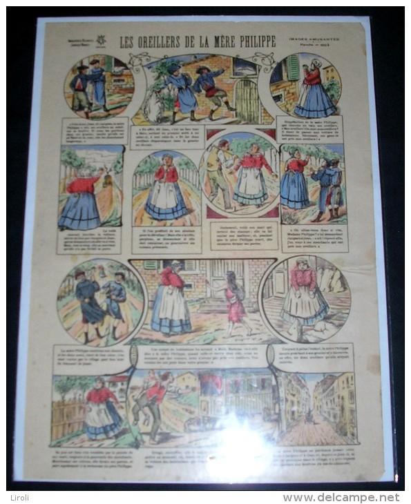 IMAGERIES REUNIES DE JARVILLE-NANCY. 1003. LES OREILLERS DE LA MERE PHILIPPE - Old Paper