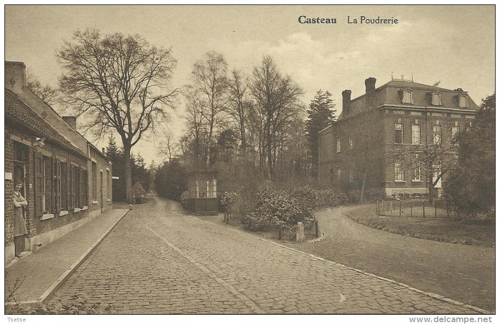Casteau - La Poudrerie - 1934 ( Voir Verso ) - Soignies