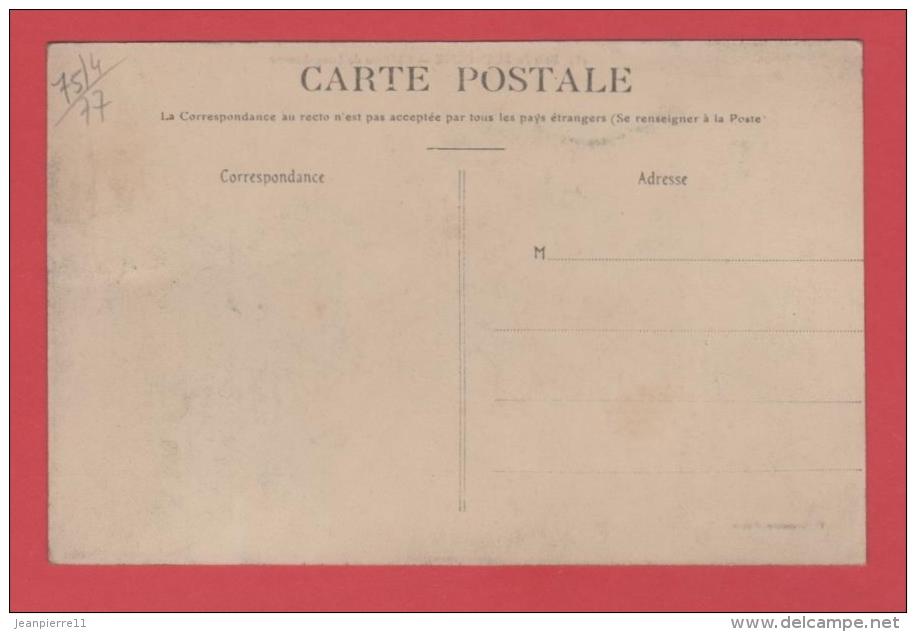 75/4   Bois De Boulogne Chateau De Longchamps  // RECTO VERSO - France